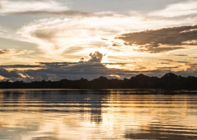 A-beautiful-sunset-in-the-Amazon-river