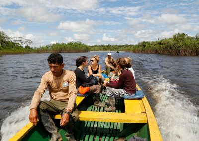Group-of-tourists-sailing-the-Amazon-river-happy-2